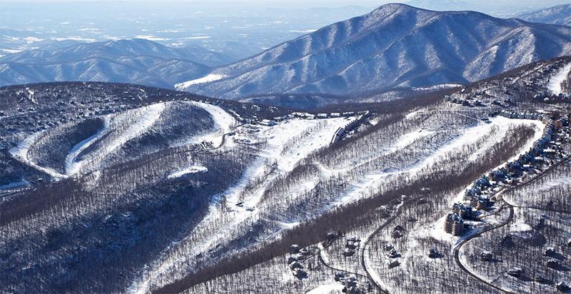 Wintergreen Resort Skiing Vacation